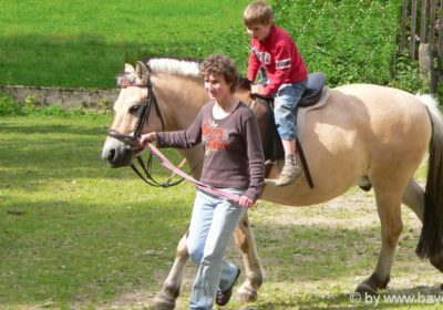 Bayerischer Wald Reiterhof Ferien für Kinder