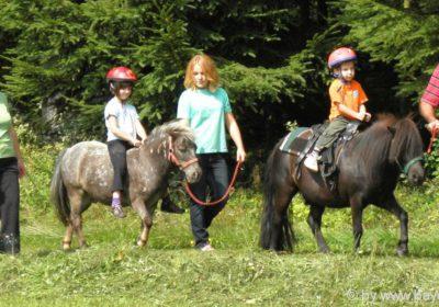 Reiturlaub für Familien in Bayern